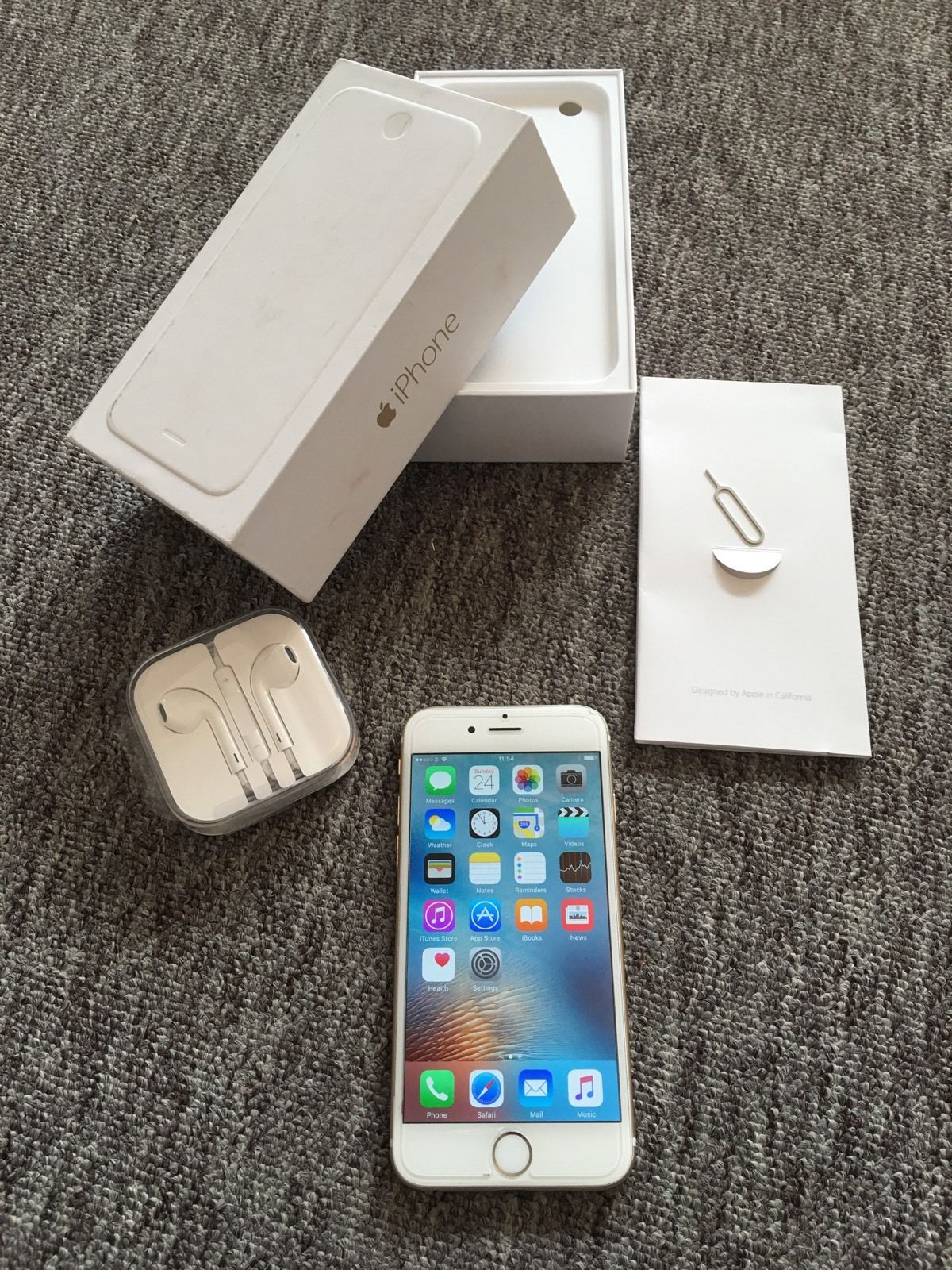 Iphone 6 128gb gold Desbloqueado